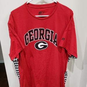 Georgia Bulldogs UGA College football t-shirt L